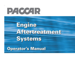 Engine Aftertreatment Systems Manual